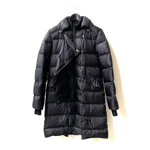 Women's black puffer coat by BCBG
